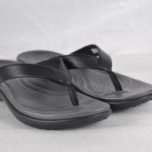 CROCS Capri V Flip Flops 202502-02S (A22-2C)